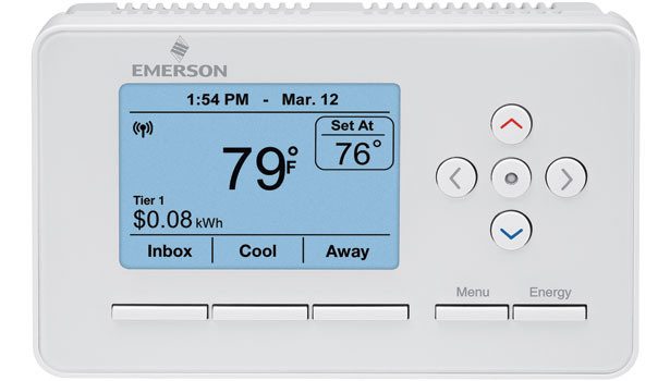 Emerson Climate Technologies Smart Energy Thermostat