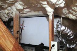 spray foam insulation in homes