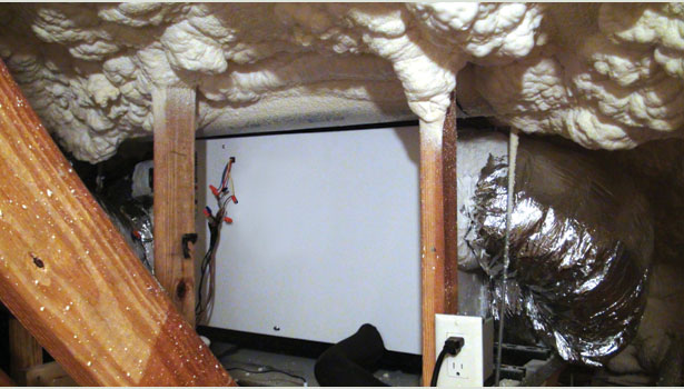 spray foam insulation in homes