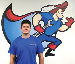 ARS/Rescue Rooter heating and air technician, Shane St. Pierre