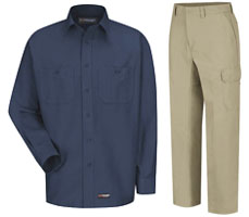 Wrangler-Work Shirts and Cargo Pants