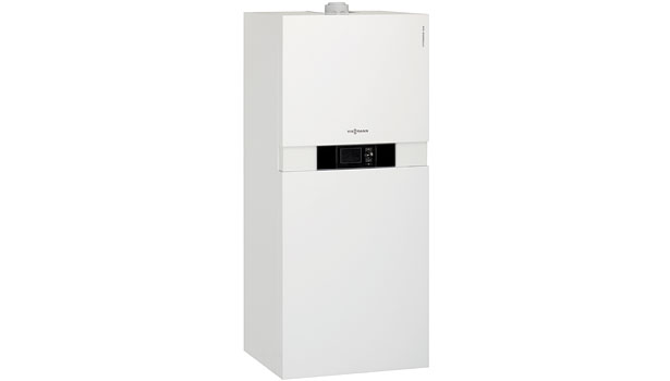 Viessmann Mfg. Co. (U.S.) Inc. Vitodens 222-F, B2TA floor-standing condensing boiler with DHW storage