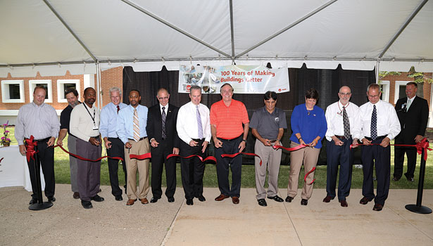 Gateway Technical College and Trane celebrated the opening of six training labs and Trane's 100th year.
