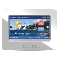 Venstar Inc.: Supply-Air Sensor Monitoring Thermostat