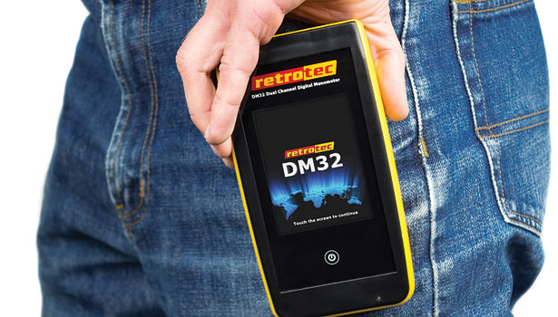 Retrotec rolled out its new DM32 gauge in July.