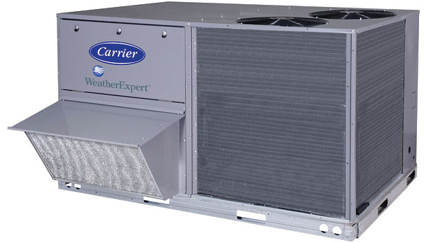 Carrier 48LC WeatherExpert gas/electric package unit
