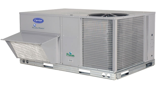Carrier 50HCQ WeatherMaster® heat pump package rooftop