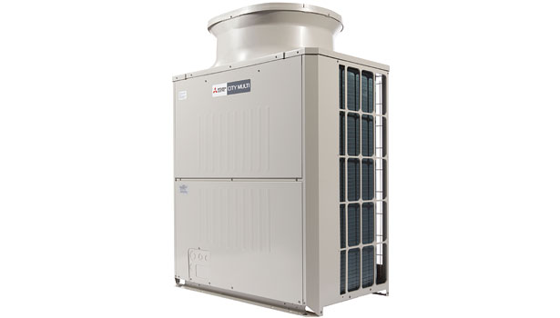 Mitsubishi Electric US Cooling & Heating Division City Multi R2-Series VRF zoning system (PURY-P72TKMU-A)