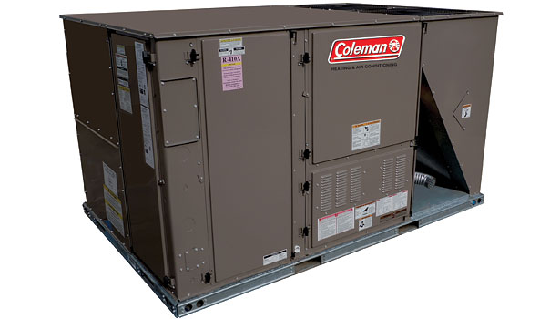 Coleman Outfitter ultra high-efficiency package unit