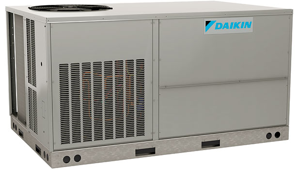 Daikin DCG package gas/electric unit