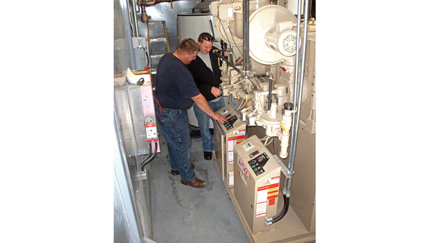 Ensuring boilers are started up and maintained  by qualified personnel who have received proper training is necessary to keep boilers operating at peak efficiency. (Courtesy of Fulton Heating Solutions Inc.)