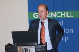 Tom Land, head of the EPA's GreenChill program, speaks at the FMI Energy and Store Development Conference