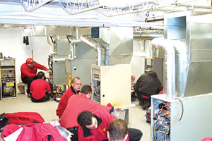 At Isaac Heating & Air Conditioning, Rochester, N.Y., they have Isaac University, a school where employees are paid to train and learn all the latest in the HVAC industry.