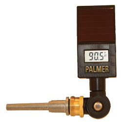 Palmer Instruments Inc.: Solar-Powered Digital Industrial Thermometer