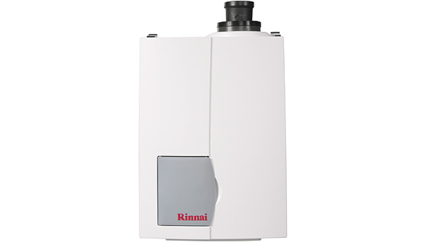 Rinnai America Corp.'s new E50C Condensing Combi Boiler, which features 95.6 percent AFUE, is designed for smaller residential applications.