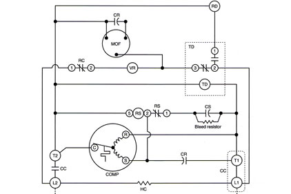 Wiring Diagram For Heat Pump: Troubleshooting Challenge: A Split System Heat Pump That7s Not rh:achrnews.com,Design