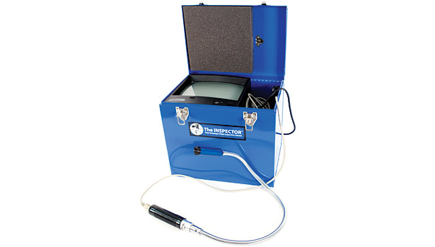 New Blue Heat Inspection Camera, chosen by: Steve Moon, president, Moon Air Inc., Elkton, Md.