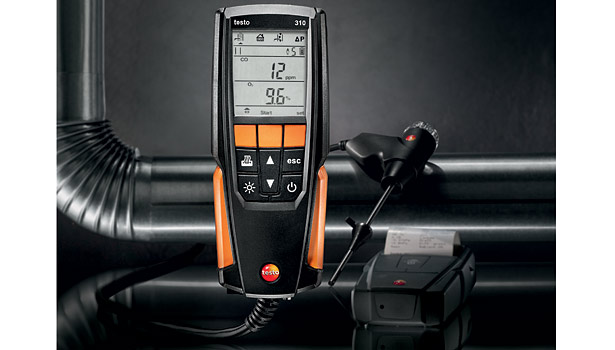 Testo 310 Combustion Analyzer, chosen by: Rob Minnick, CEO/president, Minnick's Heating and Cooling, Laurel, Md.