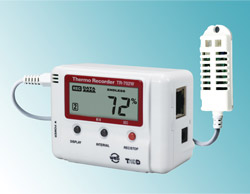 TandD Corp.: Temperature/Humidity Data Loggers