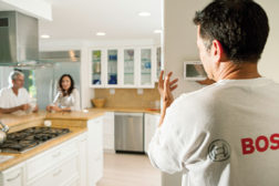 Bosch intelligent communicating thermostats are designed to offer peace of mind to customers by controlling and reporting the functions of a home's HVAC system.