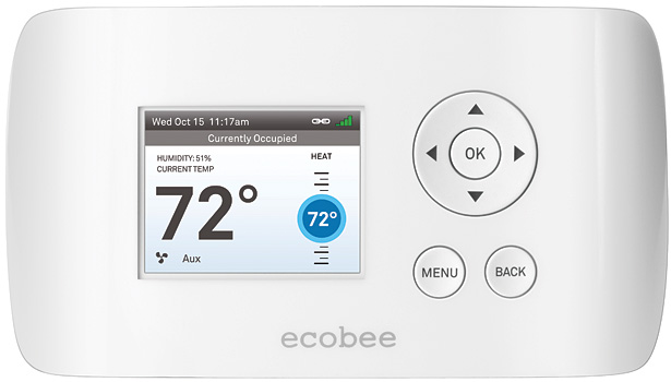 Ecobee Smart Si, chosen by Roger Grochmal, chairman and CEO, AtlasCare, Toronto.