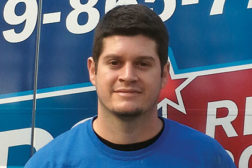 Shane St. Pierre, Heating and Air Mechanic,	 ARS/Rescue Rooter Heating and Air, Raleigh, N.C.