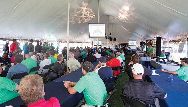 The Annual WaterFurnace Supplier Golf Outing attracted dozens of HVAC industry representatives.