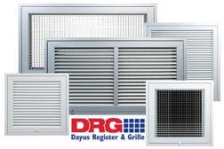 Dayus Register & Grille Aluminum Filter Grilles