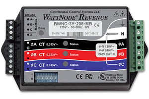 Continental Control Systems Modbus Revenue Meter