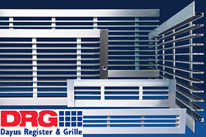Dayus Register & Grille Shallow Bar Linear Grille