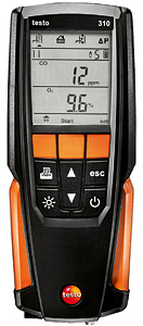 Testo: Residential Combustion Analyzer