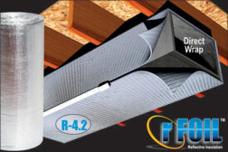 Covertech Reflective Duct Insulation