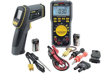 General Tools & Instruments HVAC Meter Kit