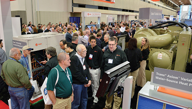 HVAC contractors like attending the AHR Expo in order to check out new products and talk with manufacturers face-to-face.