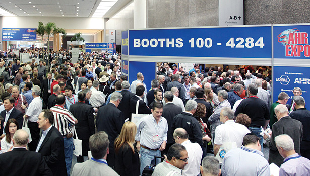 The last time the AHR Expo took place in New York City in 2008, it established an all-time attendance record.