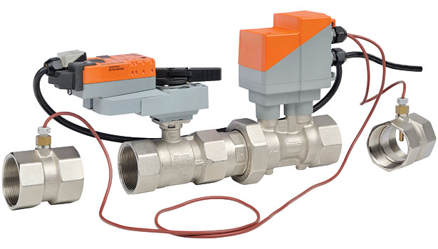 The Belimo Energy Valve is a pressure independent valve that optimizes, documents, and proves water coil performance.