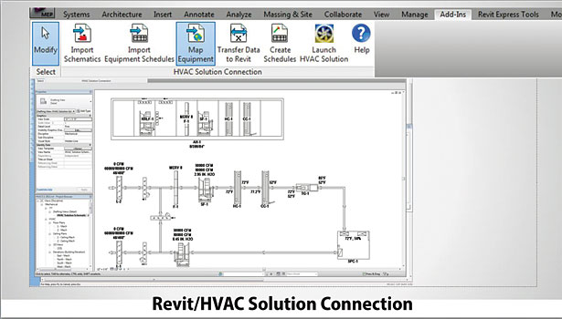 Revit/HVAC Solution from HVAC Solution Inc. is a schematic simulation tool that can be used to determine and size many of the HVAC components used in Revit Projects.
