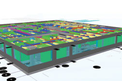 Building information modeling (BIM), such as this model, will become mandatory on European public sector contracts in less than three years.