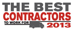 2013 Best Contractor to Work For