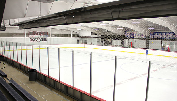 In addition to heating and ventilation unit upgrades, the rink added new light bulbs that offer double the life expectancy at almost half the cost, eliminating dark spots and creating a more inviting atmosphere.