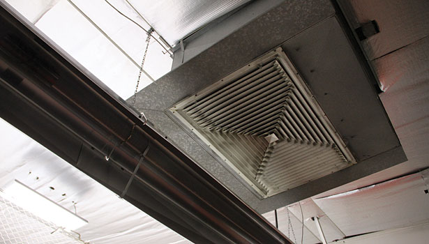 HVAC improvements at the Hamilton Ice Arena in Cleveland included replacing the damper actuators to control how much outside air is allowed into the space.