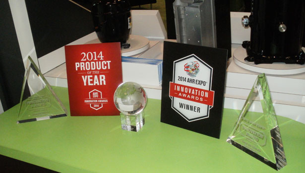 2014 AHR Expo Product of the Year Award