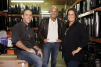 Les Gold runs the family business with his son, Seth, vice president, and his daughter, Ashley, store manager.