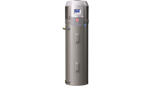 The Rheem Prestigeâ?¢ Series Hybrid Electric Heat Pump Water Heater won the 2014 AHR Expo Innovation award in the plumbing category.