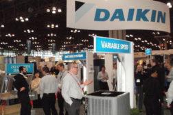 Daikin booth