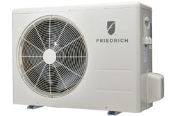 Friedrich Air Conditioning introduced its J-Series line of ductless split systems for residential and light commercial applications.