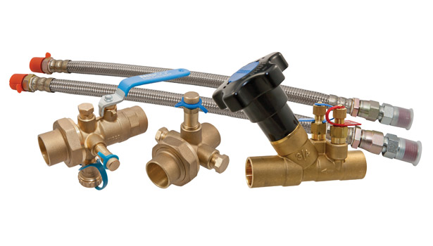 Nibco featured its Coil-Connectâ?¢ manual and automatic balancing valves, combination ball valves, unions, and valve kits, designed for a wide range of application requirements to ensure HVAC systems are balanced.