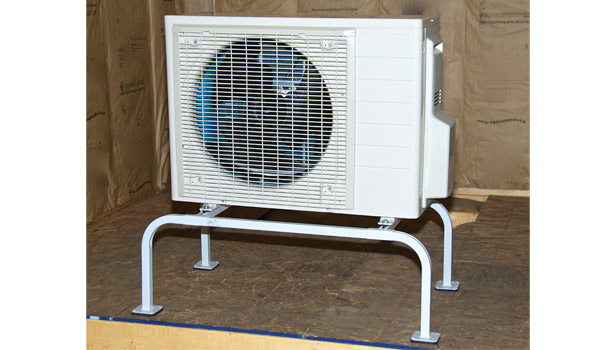 Quick-Sling LLC showed a variety of mounting systems for HVAC units.