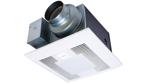 Panasonic Corp. demonstrated the WhisperGreen Selectâ?¢ vent fan with Pick-A-Flow (50, 80, and 110 cfm) technology, which offers the ability to select the required airflow with a flip of a switch.