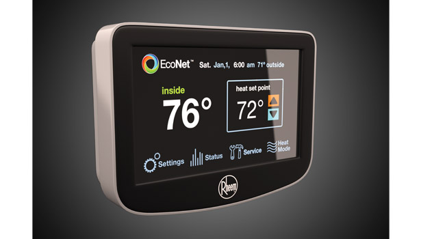 Rheem Mfg. Co.â??s EcoNetâ?¢ Control Center enables Rheem products to communicate with each other on one network, making it faster and easier for contractors to accurately install, set up, and maintain the system.